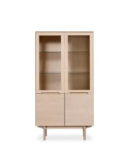 Skovby #307 display cabinet