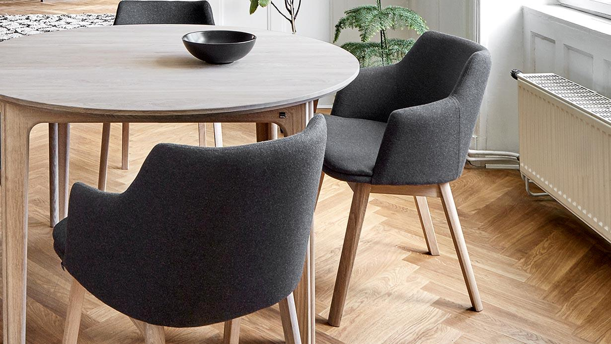 Skovby dining chairs
