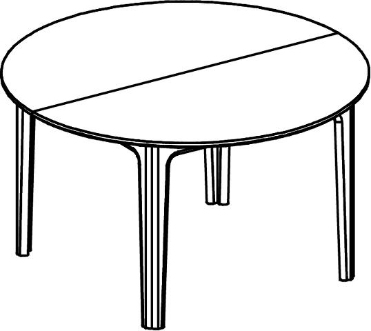 Skovby #112 dining table