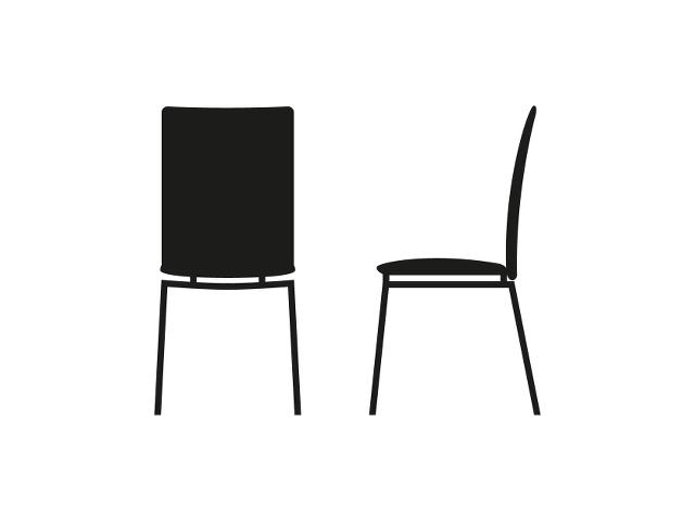 SKOVBY #58 dining chair